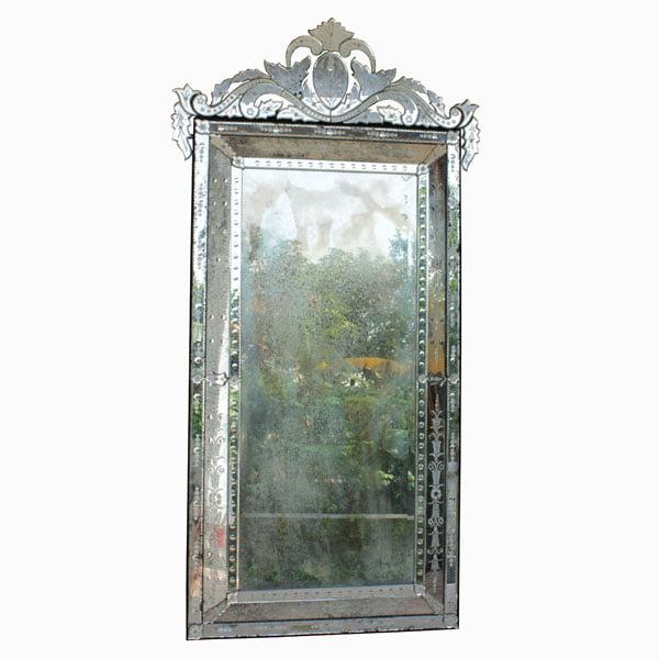Non-wooden mirror. Frameless Mirror. Venetiane mirror