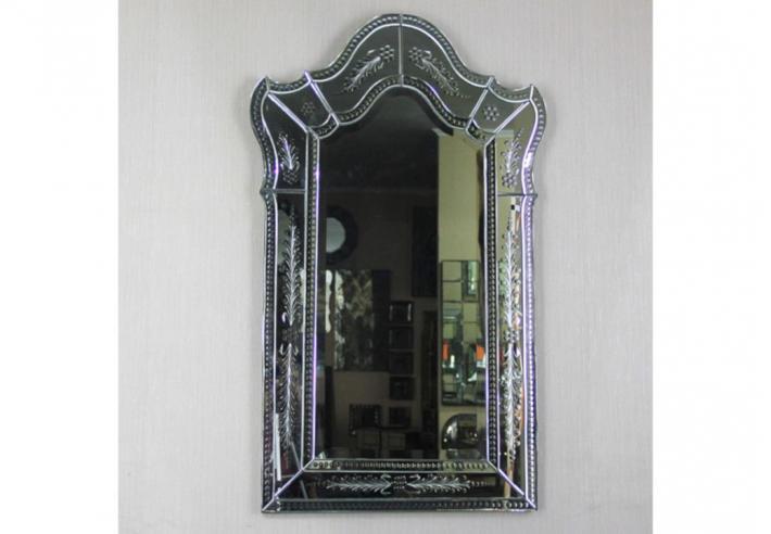 Frameless Mirror. Beli COD mebel. Lemari jam hias. Furniture quality control helper