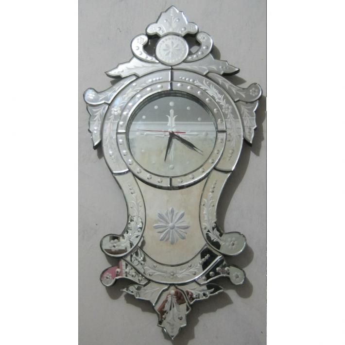 Venetian mirror. Venetian clock