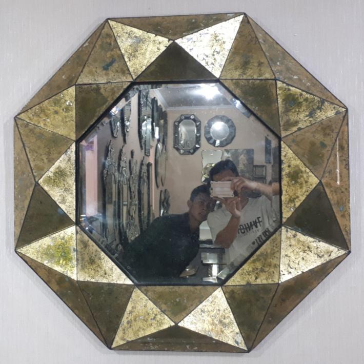 Venetian mirror. Eglomise Mirror