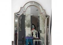 cermin hias minimalis oval