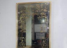 Antique églomisé Mirror