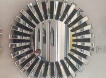 seratjati sunburst strip mirror