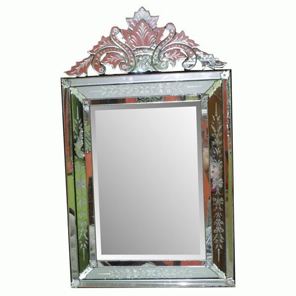 Antique venetian mirror. Cermin ukir hiasan dinding. Antique Mirror. Cermin ukir