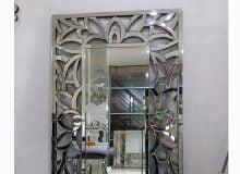 cermin dinding motif pita