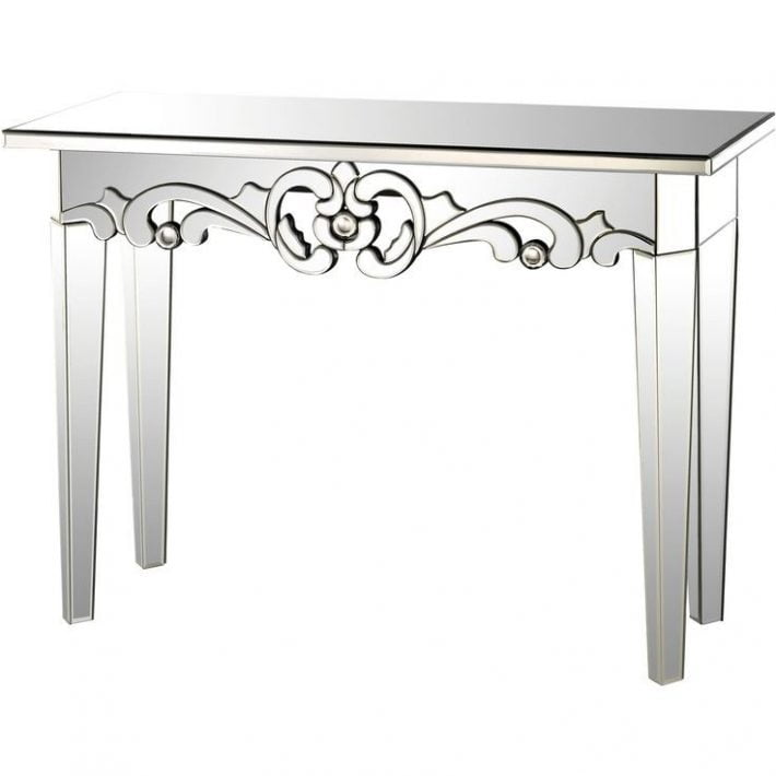 Console table mirror. Console table. Meja dinding